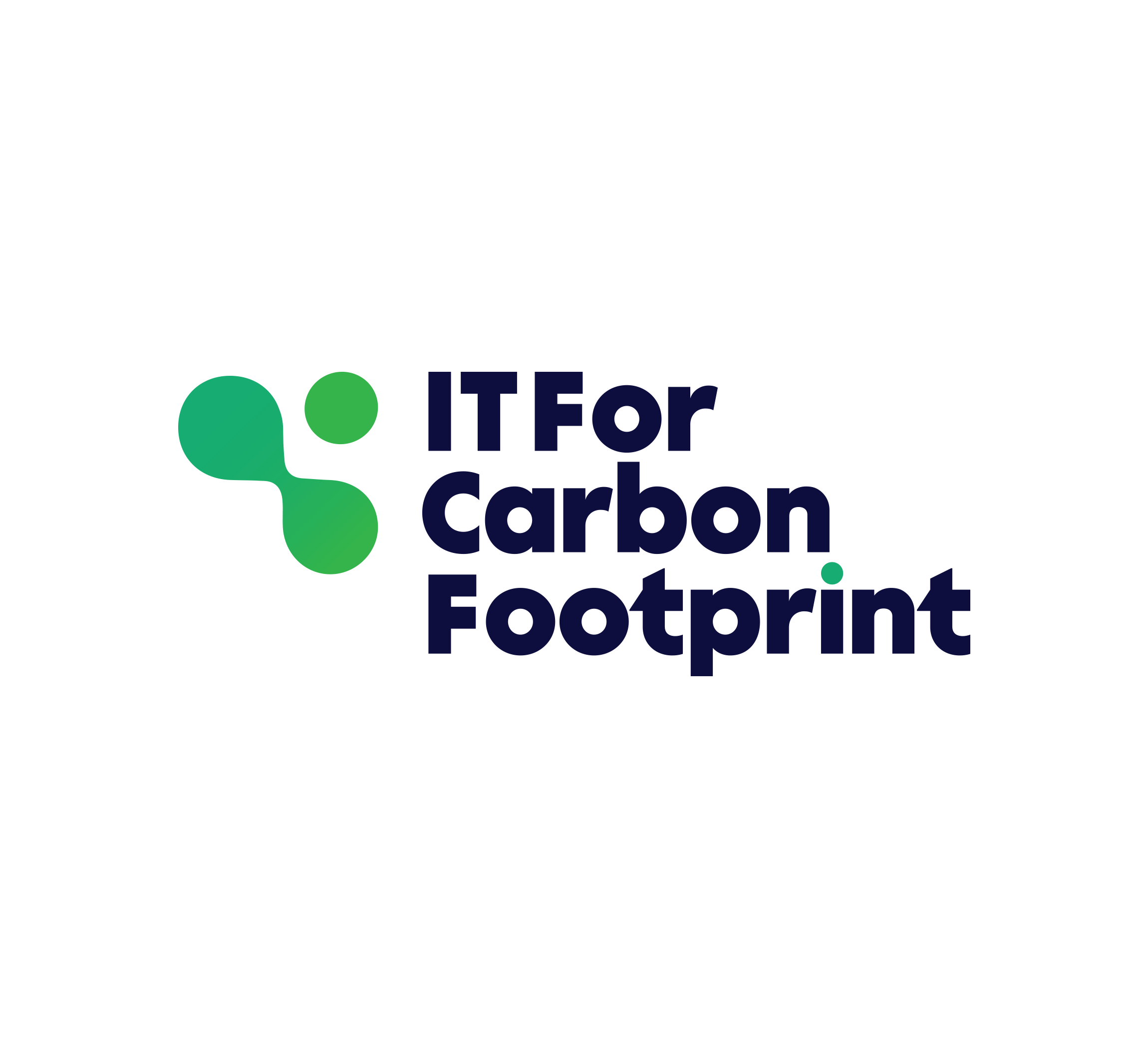 IT For Carbon Footprint — logo, key visual