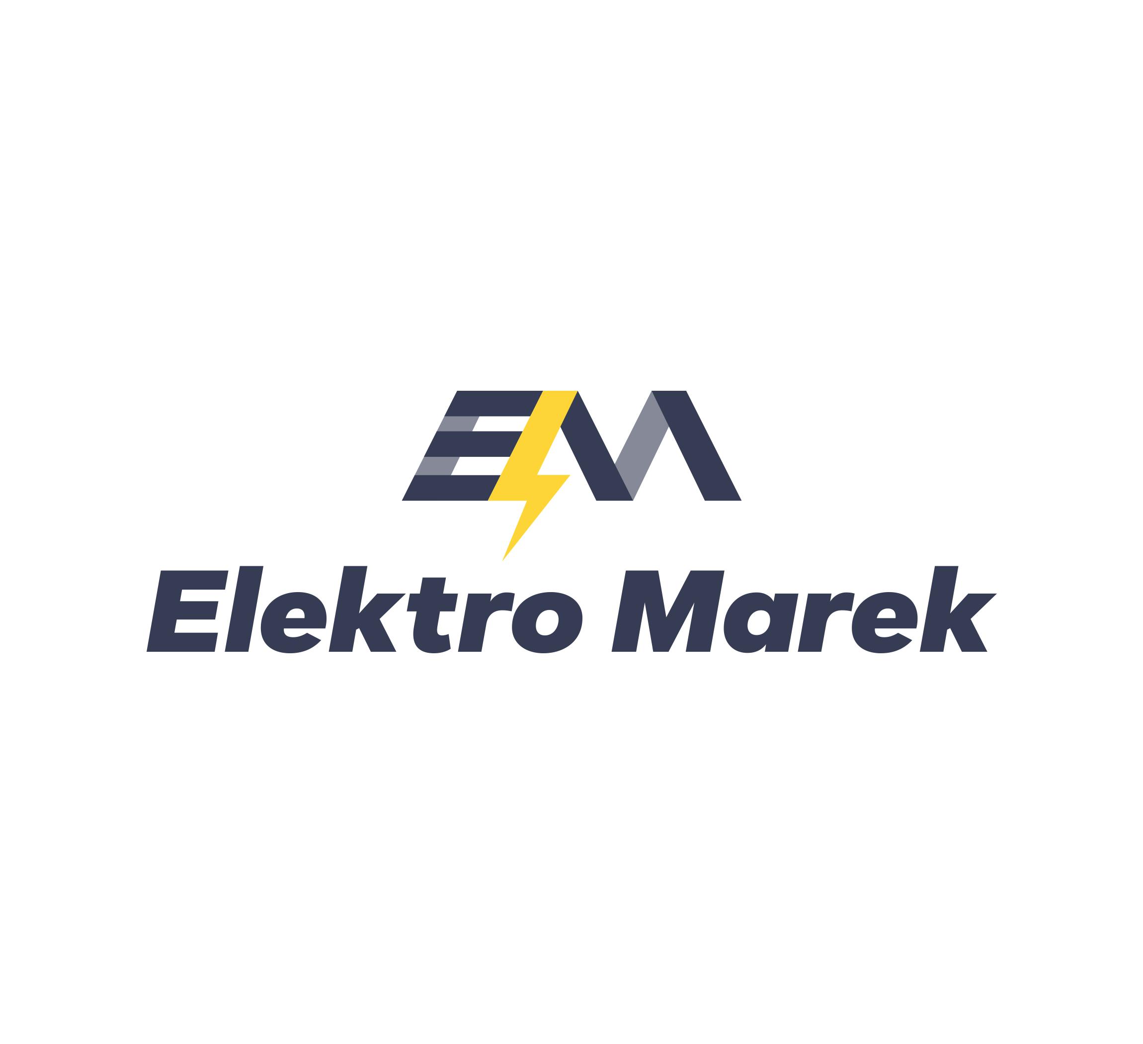 Elektro Marek, kompleksowe instalacje elektryczne — indetyfikacja wizualna