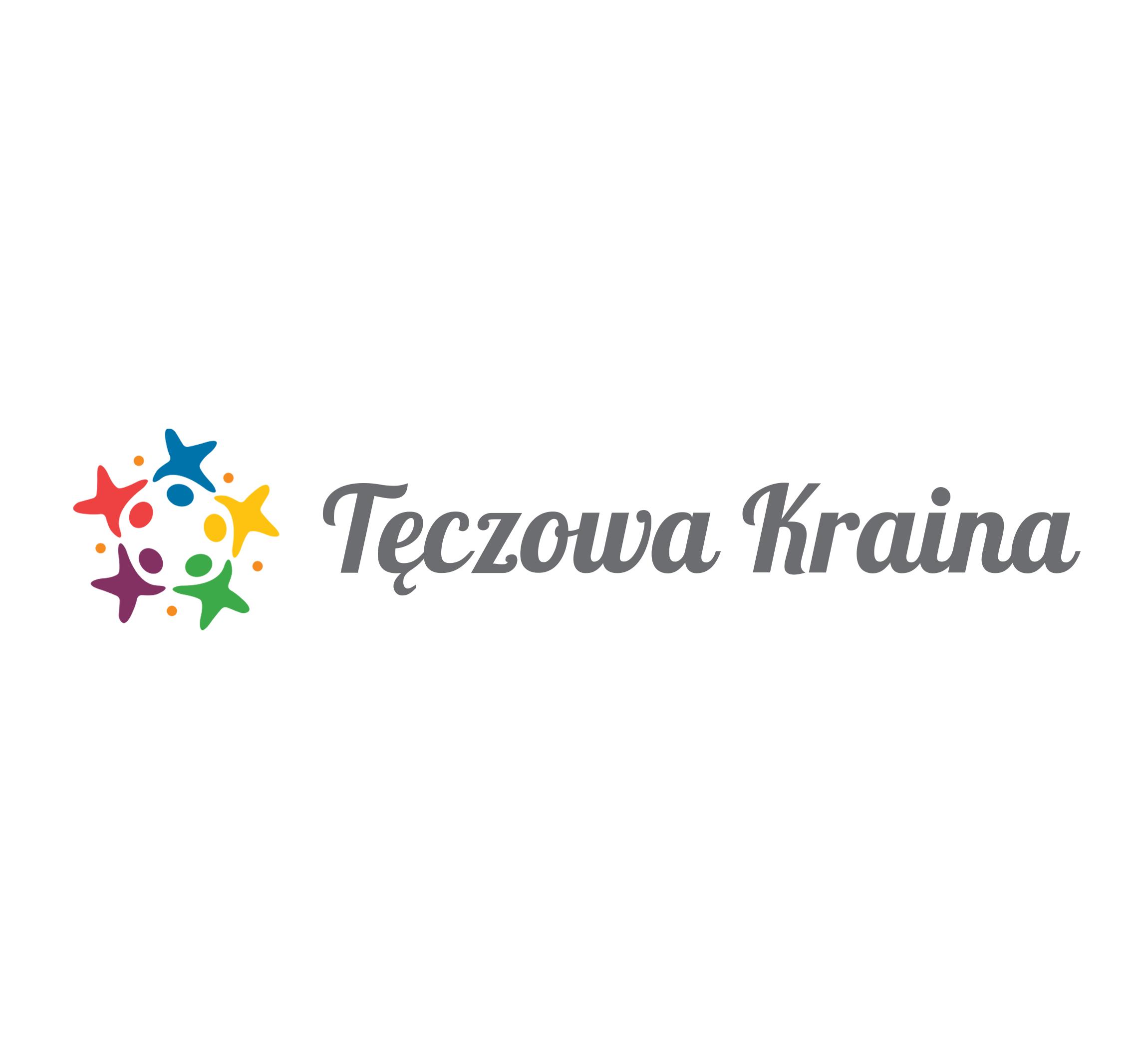 Tęczowa Kraina, przedszkole — projekt logo