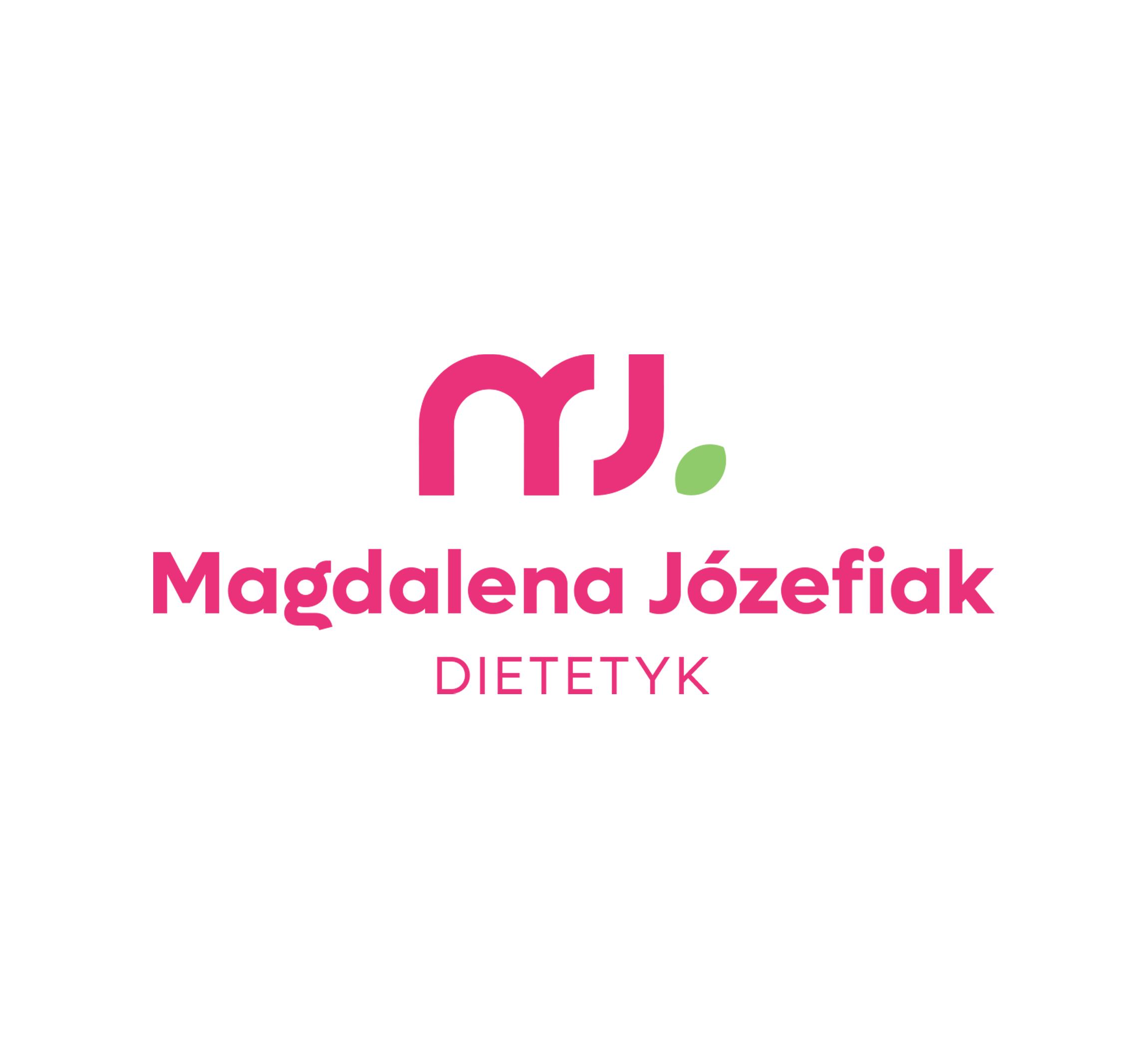 Magdalena Józefiak, dietetyk — rebranding logo