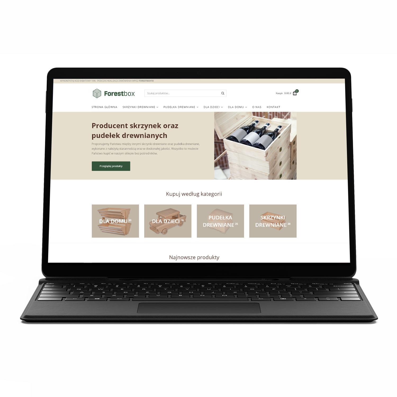 Forest Box, Producent skrzynek oraz pudełek drewnianych  — sklep internetowy